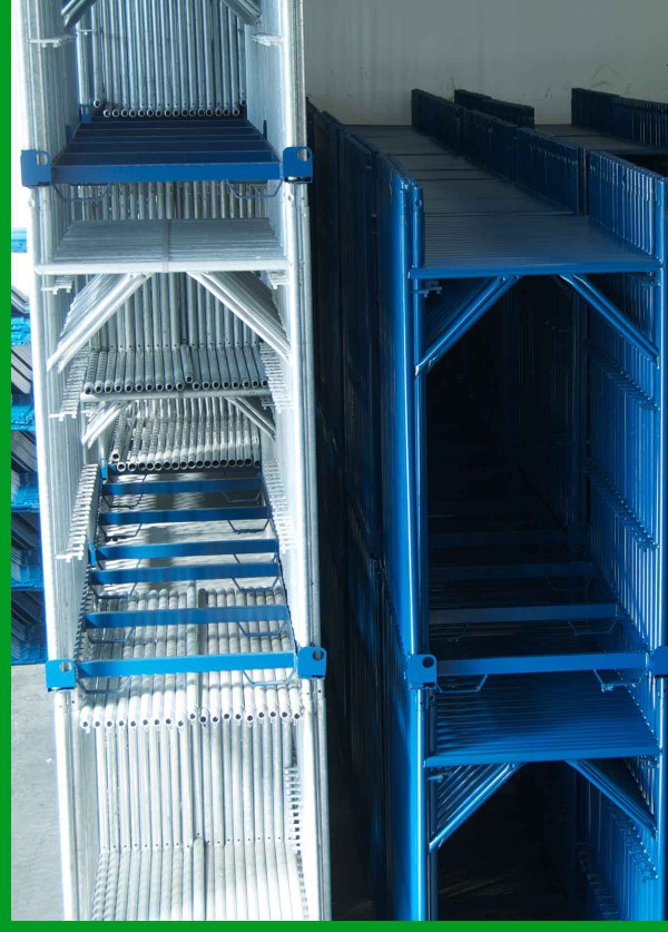Scaffolding-frames-with-steel-rack