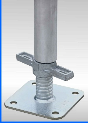 Scaffolding-adjustable-base