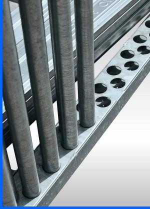 Scaffolding-frames-steel-rack-detail