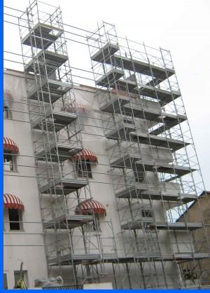 Scafolding-in-Jesolo