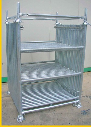 Shoring-tower-steel-rack